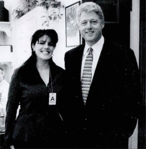 Monica Lewinsky és Bill Clinton