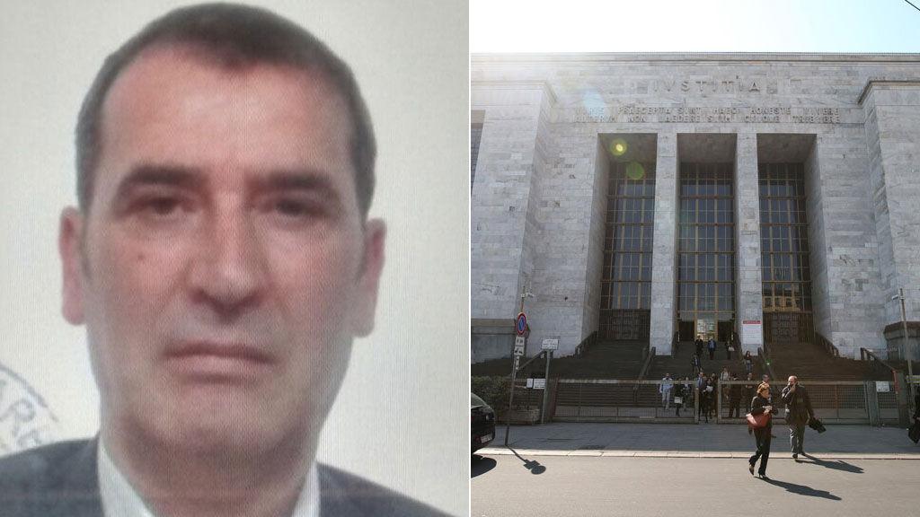 A lövöldöző és a bíróság épülete