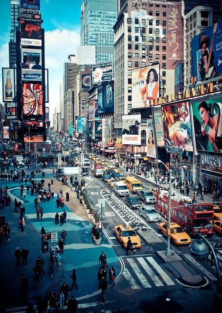 Time Square, New York - akár itt is robbanthattak volna...