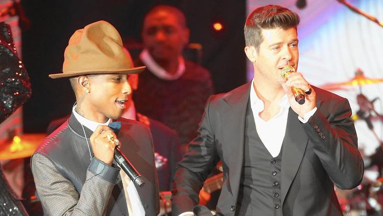 Pharrell Williams és Robin Thicke